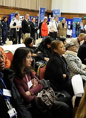 The Crime Summit 2010 audience